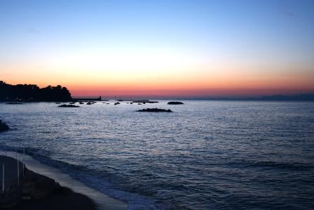 Lido al tramonto