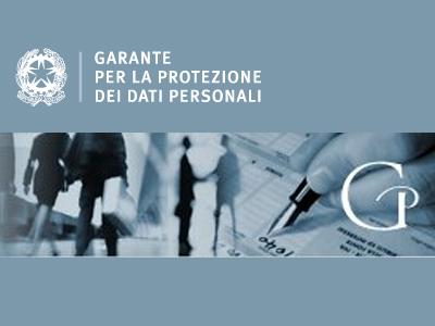 Garante privacy